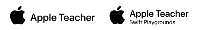 Apple Teacher logos