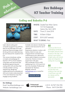 Coding and Robotics flyer